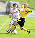 25/04/2009  Copyright Pic: James Stewart.sct_jspa03_partick_v_livingston.PARTICK'S SCOTT CHAPLAIN AND LIVY'S JOE HAMILL.James Stewart Photography 19 Carronlea Drive, Falkirk. FK2 8DN      Vat Reg No. 607 6932 25.Telephone      : +44 (0)1324 570291 .Mobile              : +44 (0)7721 416997.E-mail  :  jim@jspa.co.uk.If you require further information then contact Jim Stewart on any of the numbers above.........