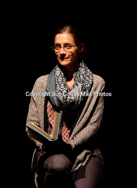 "Brenda Withers stars in ""Other Desert Cities"" at the tech rehearsal (in costume) on October 14, 2015 at Whippoorwill Halll Theatre, North Castle Library, Kent Place, Armonk, New York.  (Photo by Sue Coflin/Max Photos)"