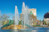 Swann Fountain in Logan's Circle, Philadelphia, Pennsylvania