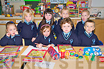 Scoil Chorp Chriost, Knockanure: Infants in Mrs Breda Kiely's class  in Scoil Chorp Chriost, Knockanure. Front ; Mia Murphy, Rachel O'Connor, Jack Buckley & Tommy Clancy. Back : Niamh O'Sullivan, Chloe Moore, Brona O'Connor & Evelyn Broderick.
