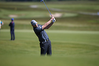 Robert Karlsson (SWE) plays second shot to the 8th during Round Two of the 2015 Nordea Masters at the PGA Sweden National, Bara, Malmo, Sweden. 05/06/2015. Picture David Lloyd | www.golffile.ie