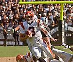 Cincinnati Bengals quarterback Jon Kitna (3) on Sunday, September 14, 2003, in Oakland, California. The Raiders defeated the Bengals 23-20.