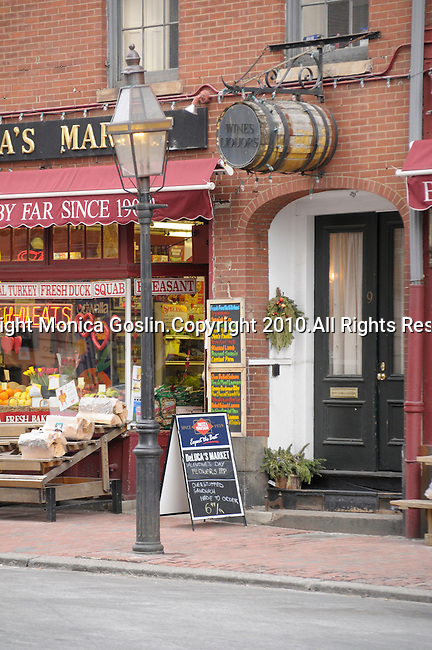 A small market and grocery store in Beacon Hill in Boston, MA.