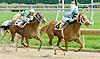 Bandola winning at Delaware Park  on 10/1/11