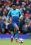 Joe Willock of Arsenal during the premier league match at the Old Trafford Stadium, Manchester. Picture date 29th April 2018. Picture credit should read: Simon Bellis/Sportimage