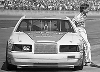 Mark Martin 02 Ford Thunderbird action Daytona 500 at Daytona International Speedway in Daytona Beach, FL in February 1986. (Photo by Brian Cleary/www.bcpix.com) Daytona 500, Daytona International Speedway, Daytona Beach, FL, February 16, 1986.  (Photo by Brian Cleary/www.bcpix.com)