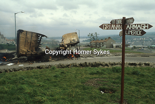 Northern Ireland The Troubles 1980s