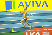 Photo: Ady Kerry/Richard Lane Photography.. Aviva European Trials and UK Championships, 15/02/2009..Rick Ward 800m B final.