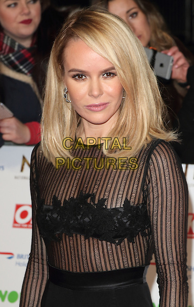 LONDON, ENGLAND - Amanda Holden at the National Television Awards 2016 Red Carpet arrivals at the O2 Arena on January 20th 2016 in London, England<br /> CAP/ROS<br /> &copy;ROS/Capital Pictures