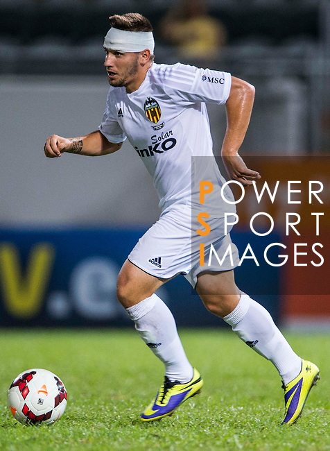 Cristian Portugues of Valencia CF in action during LFP World Challenge 2014 between Valencia CF vs BC Rangers FC on May 28, 2014 at the Mongkok Stadium in Hong Kong, China. Photo by Victor Fraile / Power Sport Images