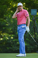 Ian Poulter (GBR) watches his tee shot on 8 during round 3 of the 2019 Charles Schwab Challenge, Colonial Country Club, Ft. Worth, Texas,  USA. 5/25/2019.<br /> Picture: Golffile | Ken Murray<br /> <br /> All photo usage must carry mandatory copyright credit (© Golffile | Ken Murray)