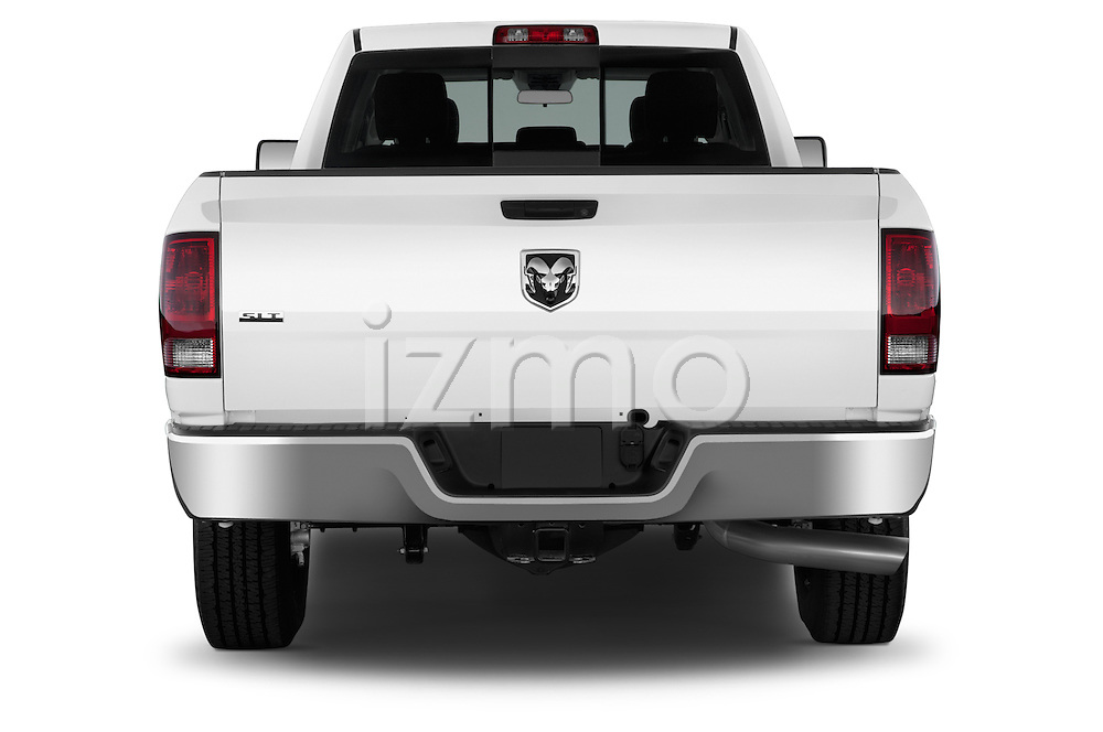 Straight rear view of a 2013 Ram Ram 2500 SLT Crew Cab