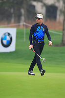 Simon Dyson (ENG) walks onto the 9th green during Thursday's Round 1 of the 2014 BMW Masters held at Lake Malaren, Shanghai, China 30th October 2014.<br /> Picture: Eoin Clarke www.golffile.ie