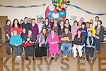 Una Healy, Knockacorrin, Currow seated centre who celebrated her 80th birthday with her family and friends in the Kilcummin GAA bar on Friday night..