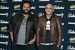Carlos Jean and DJ Nano attend the 40 Principales Awards at Barclaycard Center in Madrid, Spain. December 12, 2014. (ALTERPHOTOS/Carlos Dafonte)