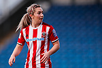 Maddy Cusack of Sheffield United during the The FA Women's Championship match at the Proact Stadium, Chesterfield. Picture date: 12th January 2020. Picture credit should read: James Wilson/Sportimage