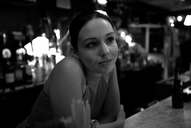 Amanda at Grant's Lounge in Macon, Ga. May 30, 2009.