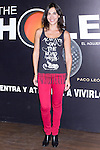 12.09,2012. Celebrities attend the presentation of the new season of  'The Hole' in Theater Caser Calderon of Madrid, with La Terremoto de Alcorcon and Alex O'Dogherty. (Alterphotos/Marta Gonzalez)
