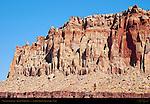 Wingate Sandstone, Grand Wash Cliffs, Capitol Reef National Park, Utah