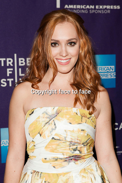 NEW YORK, NY - APRIL 19: Andrea Bowen attends the 'G.B.F.' world premiere during the 2013 Tribeca Film Festival on April 19, 2013 in New York City...Credit: MediaPunch/face to face..- Germany, Austria, Switzerland, Eastern Europe, Australia, UK, USA, Taiwan, Singapore, China, Malaysia and Thailand rights only -