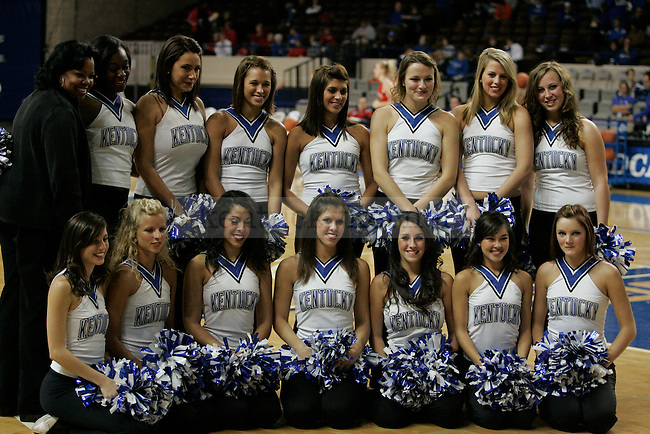 UK dance team at the Women's Basketball game against Miami (OH) on Tuesday, Nov. 1st, 2009. Photo by Scott Hannigan | Staff.