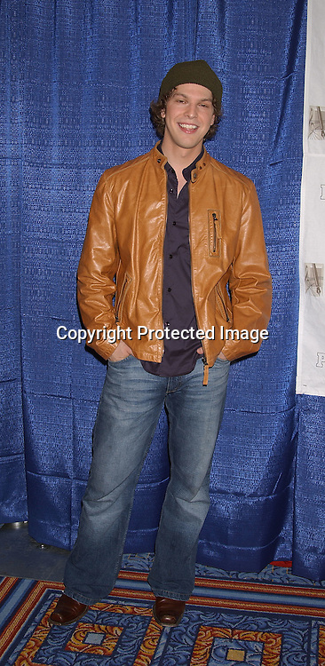 Gavin DeGraw new artist on J Records                                         ..at the Songwriters Hall of Fame annual Awards Induction and Dinner on June 12,2003  at the Marriott Marquis ..Hotel ...Photo by Robin Platzer, Twin Images