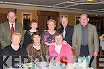 CLUB: Enjoying the Kerry Supporters Dinner Dance at Ballygarry House, Tralee, on Saturday night. Front l-r: Eileen King, Mary Ryan and Ann Locke. Back l-r: Sean Ryan, Tess Fitzgerald, Sheila King, Jim Fitzgerald and Vincent Locke (Fenit and Dublin)..
