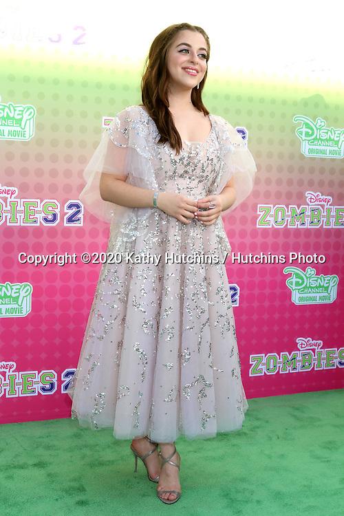 "LOS ANGELES - JAN 25:  Ariel Martin at the ""Zombies 2"" Screening at the Disney Studios on January 25, 2020 in Burbank, CA"