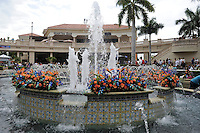 Scenes from around the track on Florida Derby Day on March 31, 2012 at Gulfstream Park in Hallandale Beach, Florida.  (Bob Mayberger/Eclipse Sportswire)