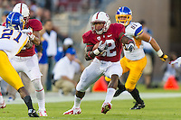 STANFORD, CA - AUGUST 31 2012: Anthony Wilkerson during the Stanford Cardinal 20-17 win over San Jose State.