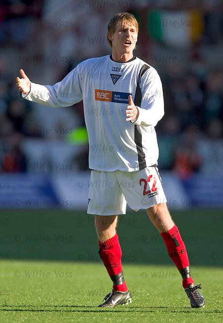 jesper Christiansen, Dunfermline.stock season 2004-2005.pic willie vass