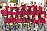 3RD & 4TH CLASS: Students of 3rd and 4th class Scoil Naomh Eric, Kilmoyley at the Mass and Blessing of their school by Fr Liam Lovell and Fr Donnacadh Leahy on Tuesday morning front l-r: John O'Mahony, Colin O'Halloran, Maurice O'Connor, Richard Flaherty, Mike Leen, Emmet Meehan and Darren Godley. Centre l-r: Lousie O'Flaherty, Makla Lacey, Eric Brenner Hassett, Mark Griffin, Padraig O'Connor, Robert McElligott, Max Pardoe and David McCarthy. Back l-r: Liam Claffey, T.J. Maunsell, Sean Regan, Robert Harrington, Eoin McCarthy, Robert Collins, Kieran McCarthy, Sean Curran and Paudie Godley.   Copyright Kerry's Eye 2008