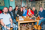 Clonmel Coursing Preview: Attending the Clonmel coursing preview at The Dew Drop Inn, Lixnaw on Sunday evening last were James Allen, William Quinlan, Vanessa Houlihan, Jamie, Joan & Anne Allen & John Carroll.
