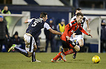 Andy Halliday turns Lewis Toshney