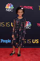 "LOS ANGELES - SEP 26:  Faithe Herman at the ""This Is Us"" Season 2 Premiere Red Carpet at the Neuehouse Hollywood on September 26, 2017 in Los Angeles, CA"