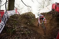 tricky descent by Jappe Jaspers (BEL)<br /> <br /> Soudal Classic Leuven 2016