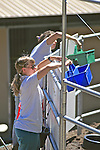 Barbara Linsley & Sarah Borrey Working Trial, Choosing Colored Buckets