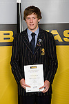 Boys Yachting winner Paul Snow-Hansen from Takapuna Grammar School. ASB College Sport Young Sportperson of the Year Awards 2008 held at Eden Park, Auckland, on Thursday November 13th, 2008.