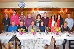 ***Reproduction Free***  JDM Photography<br /> Photographer: Michael Collins<br /> <br /> Enjoying dinner in Leens Hotel, Abbeyfeale on Saturday night were members of the Knocknagoshel Spike Players drama group on their annual night out.