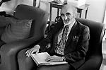 Derek Neville author poet mystic at home Norfolk, 1974  England UK