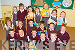 &nbsp;DRAWINGS: On their first day at Glenderry National School, Ballyheigue, on Monday young junior infants took up drawing as their first lesson. Front l-r: David O'Mahony, Tomás Gaynor, Tadgh Griffin, Thomas Enright and Jack Thornton. Centre l-r: Jessica Kenny, Clodagh Donnelly, Jordan Goggin, Graham Slattery, Conor O'Sullivan and Jack Stack. Back l-r: Erica Lucid, Leanne Roche, Shauna Casey, Sarah Davern, Ava Stack Griffin, Ria Dunne and Laura Reidy<br />