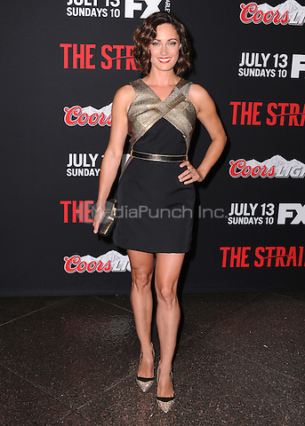 "LOS ANGELES, CA - JULY 10:  Natalie Brown at the Premiere Event for ""The Strain"", presented by FX Networks at the Directors Guild of America on July 10, 2014 in Los Angeles, California. Credit: PGKirkland/MediaPunch"