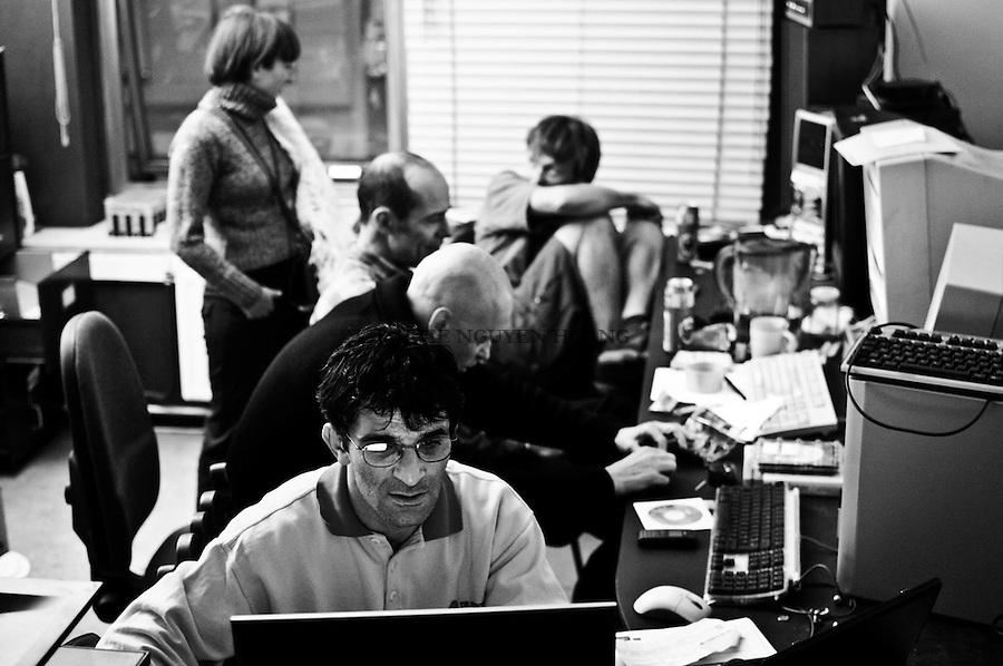 Tous les samedi, un atelier Linux est organisé par un des locataires du bâtiment.