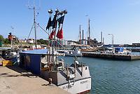 Am Hafen von R&oslash;nne, Insel Bornholm, D&auml;nemark, Europa<br /> Port of Roenne, Isle of Bornholm, Denmark