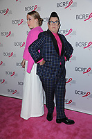www.acepixs.com<br /> May 12, 2017  New York City<br /> <br /> Emma Myles, Lea DeLaria attending The Breast Cancer Research Foundation's Annual Hot Pink Party on May 12, 2017 in New York City.<br /> <br /> Credit: Kristin Callahan/ACE Pictures<br /> <br /> <br /> Tel: 646 769 0430<br /> Email: info@acepixs.com