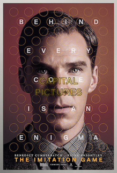 The Imitation Game (2014) <br /> POSTER ART<br /> *Filmstill - Editorial Use Only*<br /> CAP/KFS<br /> Image supplied by Capital Pictures