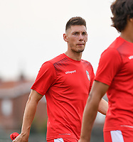20190717 - LICHTERVELDE , BELGIUM : Mouscron's Mico Kuzmanovic pictured during a friendly game between KSV Roeselare and Royal Excelsior Mouscron Moeskroen during the preparations for the 2019-2020 season , Wednesday 17 July 2019 ,  PHOTO DAVID CATRY | SPORTPIX.BE