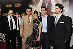 BEVERLY HILLS, CA - MAY 31: Dean Wright, Mauricio Kuri, Andy Garcia, Eva Longoria, Nestor Carbonell and Eduardo Verastegui  attend the Los Angeles premiere of ARC Entertainment's 'For Greater Glory' at the AMPAS Samuel Goldwyn Theater on May 31, 2012 in Beverly Hills, California.