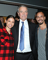 LOS ANGELES - FEB 7:  Brytni Sarpy, Eric Braeden, and Bryton James at the Eric Braeden 40th Anniversary Celebration on The Young and The Restless at the Television City on February 7, 2020 in Los Angeles, CA