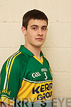 Gavin OGrady member of the Kerry U-21 panel 2012